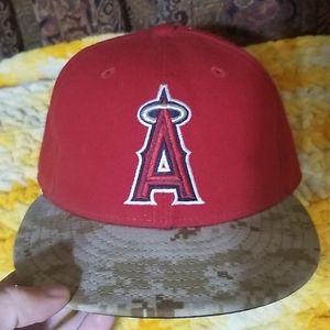 New Era Angels fitted hat.